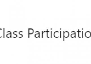 Class Participation, by Elizabeth Royer