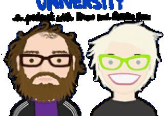 Garbage Brain University, by Natalie Dee and Drew