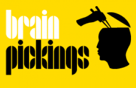 Brain Pickings, by Maria Popova