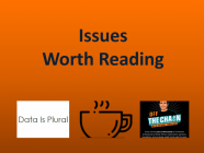 1/8/21 Recommended Issues: Theme of the year, Inflation, Big Datasets