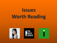 5/7/21 Recommended Issues: Antipatterns, Challenger Safety, Universal Creative Income