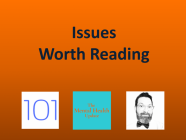 5/21/21 Recommended Issues: puzzles, pre-mortems, tricking your brain