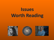 6/25/21 Recommended Issues: Space Apocalypse, Monitoring, Sun