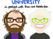 Garbage Brain University, by Natalie Dee and Drew