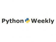 Python Weekly, by Rahul Chaudhary